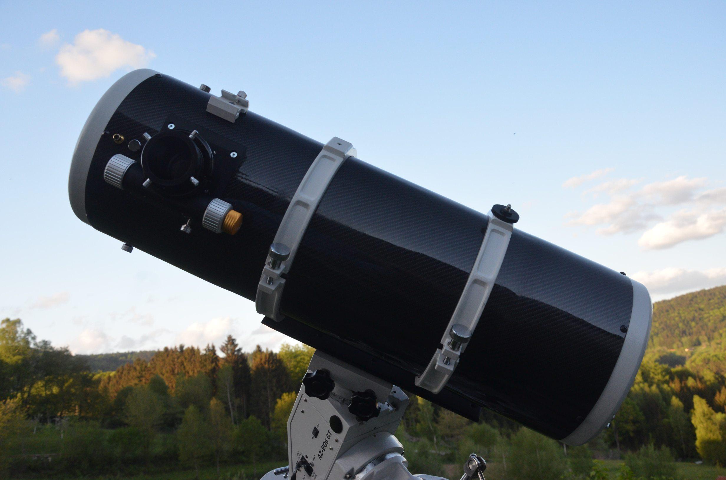 Teleskop express ts m rändelschrauben für fangspiegel justierung